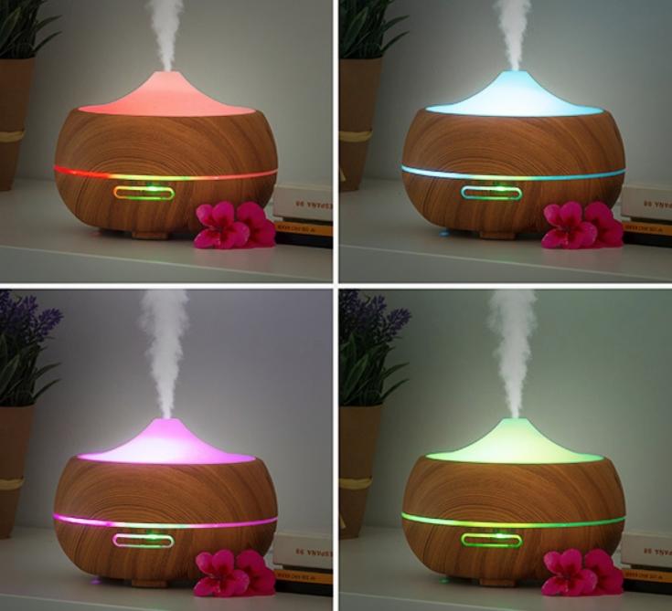 humidificateur diffuseur d'arômes LED